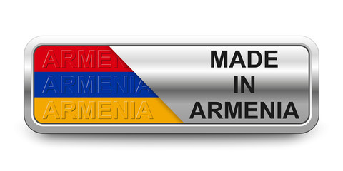 Made in Armenia Button