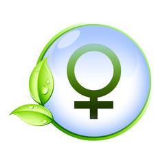 Icone bio : femelle
