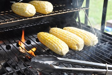 Grilling corns