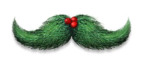 Winter Mustache Decoration
