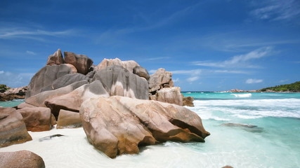 La Digue Beach, Seychelles