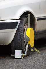 car tire lock