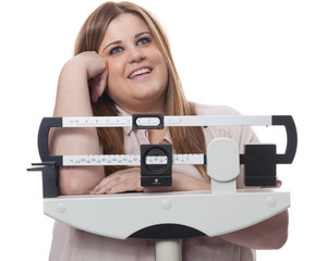 Hope on the scale