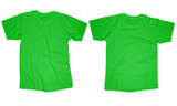 Light Green T-Shirt Template