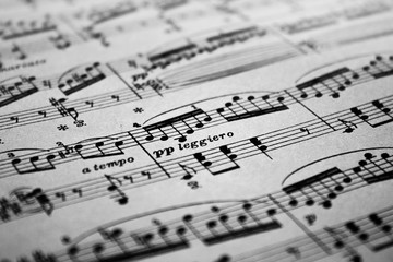 Sheet Music Background