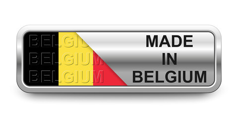 Made in Belgium Button