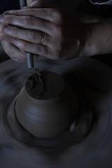 Tournassage d'une céramique
