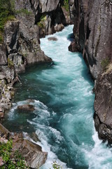 Blue river, Norway