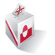 Wahlbox Grönland