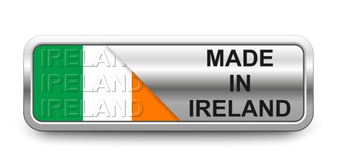 Made in Ireland Button