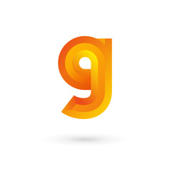 Letter G logo icon design template elements.