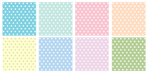 pattern circle pastel tone background