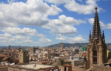 Barcelona roofs
