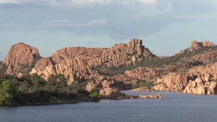Watson Lake Prescott Arizona Zoom Out