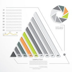 Infographic elements, design for your presentation