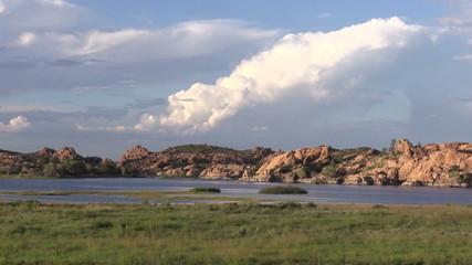 Storm Over Willow Lake Prescott Arizona
