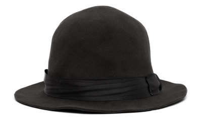 Black hat isolated on white