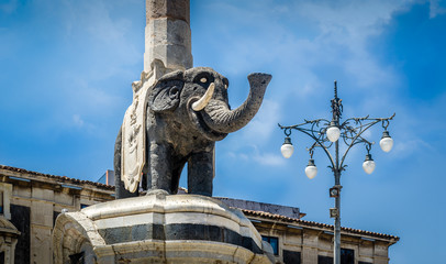 Elephant monument