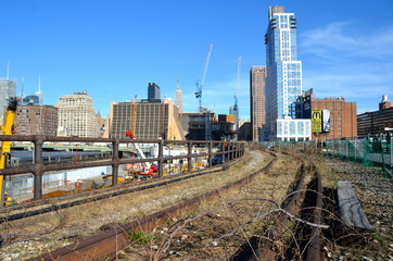 New York City Highline, New York City, USA.