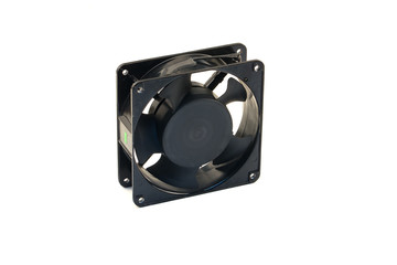 Control box fan