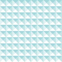 Seamless Pattern Retro Corners Turquoise