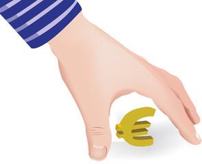 prelevare l'euro