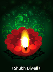 Diwali Traditional Background