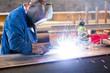 Schweißer in der Industrie // welding operator