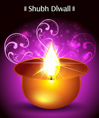 Shubh diwali Background