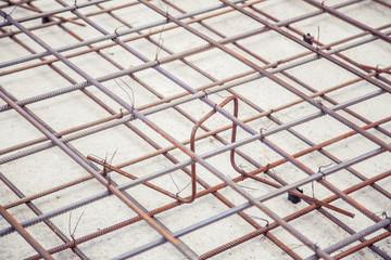 mesh reinforcement cage, reinforcement plates