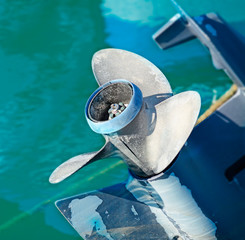 outboard blades