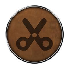 Icone cuir ciseau