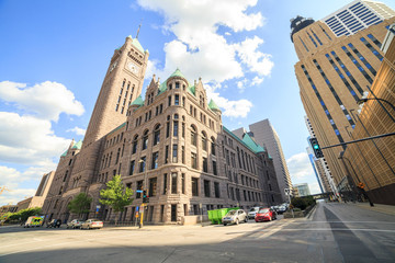 City Hall of Minneapolis, Minnesota.