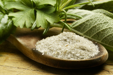 Sal de hierbas Sale alle erbe Herbal salt Kräutersalz מלח צמחים