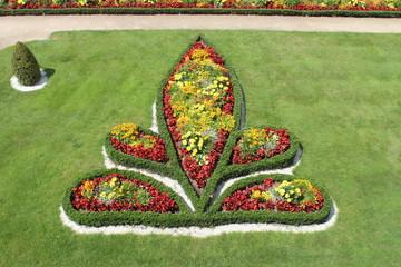 Un élément du jardin du Château de l'Hermine à Vannes