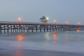 California Morning Pier