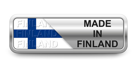 Made in Finland Button