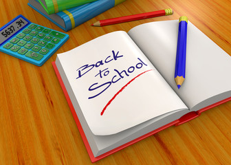 Back To School - 3D