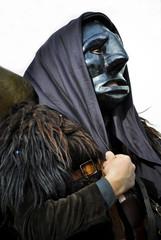 Sardinia. carnival mask