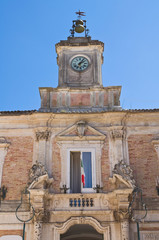 Town Hall Building. San Severo. Puglia. Italy.