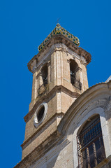 Church of St. Lorenzo. San Severo. Puglia. Italy.