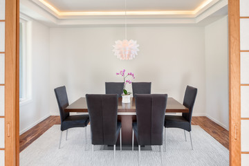 Elegant Dining Room in New Home