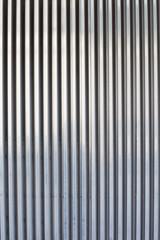 chrome ribbed metal sheet
