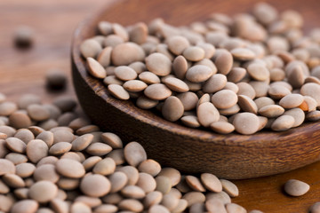 Dry Organic Brown Lentils