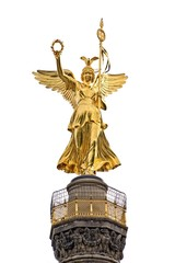 Close up of Berlin Victory column (Siegessaule)