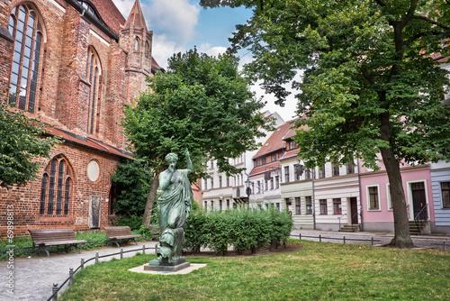Berlin Nikolaiviertel (Nicholas quarter), Germany - 69898813