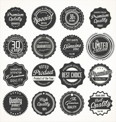 Premium quality retro Labels