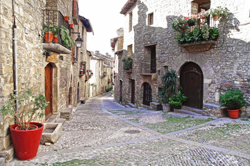 The old town. Spain
