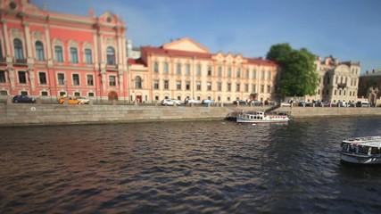 Old Saint Petersburg View of the embankment