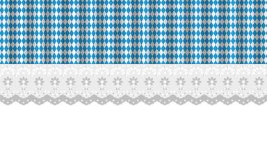 Oktoberfest Hintergrund Muster Ajour Gardienen Fenster